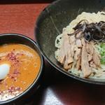 麺屋 かねもり - 濃厚味噌つけ麺+③辛