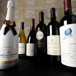 「ニューワルド」メインの種類豊富なこだわりワイン