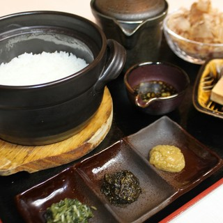名物ワサビ丼(茶漬け)