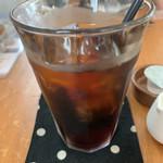 テガミ カフェ - テガミコーヒーのアイスコーヒー♡¥600(税込)