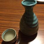いっちょう - 日本酒 一銚・二合 熱燗 ¥570(税別)