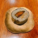 あめこや - お通し にしんの蕎麦寿司
