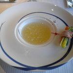 箱根ハイランドホテル ラ・フォーレ - 冬蕪のみぞれ 旬野菜のブイヨン仕立て