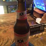 """ジャズカフェ ロンドン - メキシコ・バハカリフォルニアのラガービール""""テカテ(Tecate)""""。"""