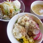 レストラン明治亭 - サラダ、サラダバー、スープ