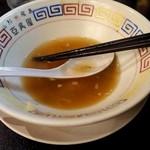 山形飛魚 亞呉屋 - スープは残しました