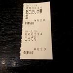 山形飛魚 亞呉屋 - 234番ってことはこの日234人目かな?