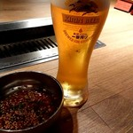 111928889 - 生ビール(一番搾り)~アイスコールド~650円