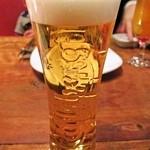 ナビ - グラスにカールスバーグの浮き彫り