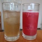 MERCI  - 自家製ジンジャー&山桃ソーダ割り