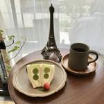 JULES VERNE COFFEE - シャインマスカットのサンドイッチ&ドリップコーヒー(コスタリカ・ウォッシュト)