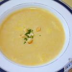 レストラン スコット - スコットスペシャルのスープ
