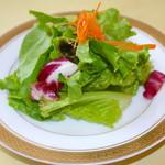 レストラン スコット - オムライスのサラダ