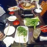 大重慶 麻辣燙 - 野菜に練り物に、ふみたいなものとか