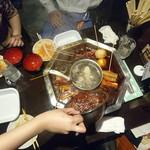 大重慶 麻辣燙 - 辛みソースの追加投入