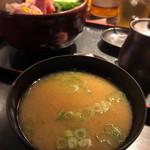 一政 - お味噌汁