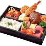 洋食コノヨシ - 【予約弁当】[10]洋食コノヨシのおもてなし御膳(ハンバーグとミックスフライ)