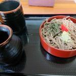 そば処大塚 - 料理写真:2019年7月 割子そば(250円)
