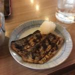 晩杯屋 - 焼き太刀魚