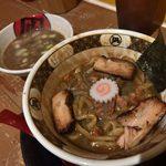 すごい煮干ラーメン 凪 - 「煮干鱗の銀カレー麺(すごい煮干スープ付)」500円