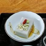 111962837 - 蕎麦豆腐