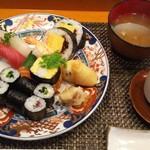 玄海鮨 - 貝汁も つきます