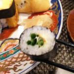 玄海鮨 - ネギ巻  万能ネギとマヨネーズ