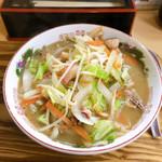 八十吉ラーメン - 野菜ラーメン