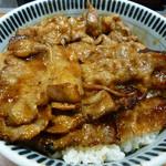 東京チカラめし - 焼き牛丼 大盛り(380円)