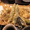 手打そば さか間 - 料理写真:季節の野菜の天ぷら