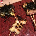 博多焼き鳥・野菜巻き・もつ鍋 かつぎや -
