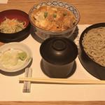 平沼 田中屋 - かつ丼セット  1,450円