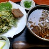 いずみ - 料理写真:温かい天ぷらそば