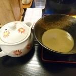 煮干中華 あさり - 割スープです