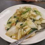 青椒 - 三鮮 炒麺(海鮮入りやきそば)