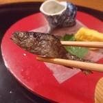 熊魚菴 たん熊北店 - アマゴ