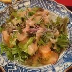 熊魚菴 たん熊北店 - サラダ