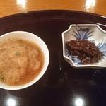 熊魚菴 たん熊北店 - 大根おろしともろみ味噌