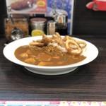 CoCo壱番屋 - 料理写真:イカ野菜カレー(5辛)税込1,042円