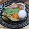 極麺 青二犀 - 料理写真:【(限定) キジ爆発 + 煮たまご】¥1000 + ¥100