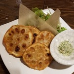 カジュアルバル Yuming 108 - レンコンと豚肉のはさみ揚げ