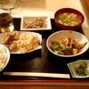 Mako - 料理写真:夜でもみそ汁とおかず3品の定食 500円