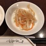 Sankyuuchuubou - 2019.7.18  クラゲの冷菜