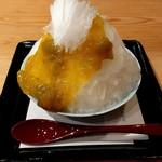 囲炉裏茶房 - 料理写真:氷室守 城州白梅(1296円税込)