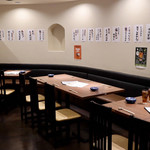 bekoya - オープンキッチンのライブ感を楽しめるテーブル席
