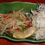 ネン タイキッチン - ソムタム(パパイヤサラダ)
