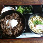 さか栄 - 牛丼セット