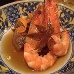 11200836 - ①海老と磯つぶ貝のうま煮700円