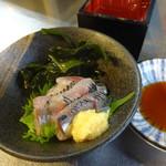 番兵 - イワシ刺380円