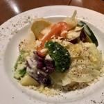 112001997 - 温野菜のゴルゴンゾーラソース 小
